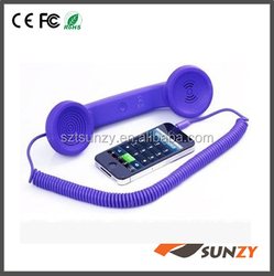wholesale anti-radiation retro coco pop phone handset for smart phones and laptops