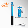 clearly newest pole take cable monopod selfie stick for smart phones
