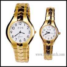 Top brand luxury stainless steel watch men China factory wholesale Wristwatches gold tone watches