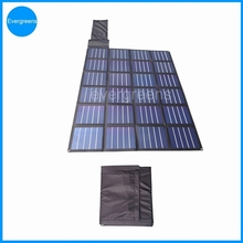 Folding amorphous solar charger, solar panel 1kw