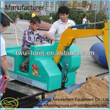 Fwulong explosion models children outdoor play equipment excavator factory direct simulation of electric excavator