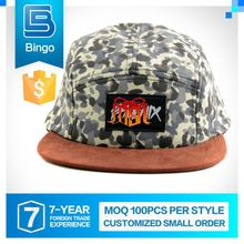 2015 Hot Selling High Quality Brand New Design Papal Accept Wholesale Custom 5 Panel Snapback Caps