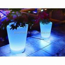 solar led flower planter