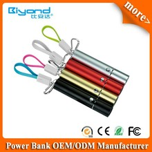 2015 New Product Universal 2600mah Portable charger