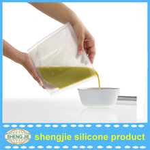 novelty design silicone food pouch Preservatives For Baking Food
