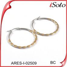 Bisuteria en acero inoxidable adult sex jewelry earings for women 2015