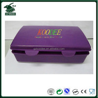 Custom logo food grade plastic food container/food storage container/plastic lunch box