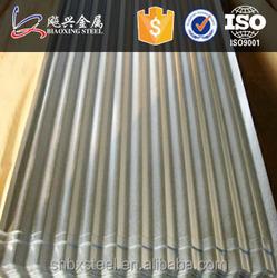 China Suppliers Sheet Metal Zinc Aluminium Roofing Cheap