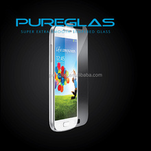 Anti Bubble Clear Temepred Glass screen protector For Samsung S4 mini i9190 ,screen glass protector