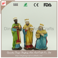 Hot Sale New Product Religious Resin Christmas Nativity Sets Native Figurine