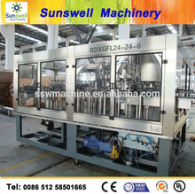 CE, TUV !! Automatic 3 in 1 Carbonated Drink Filling Machine/ Line