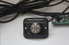 Senken DC12V(DC24V) LED hide a way dual color strobe LED light