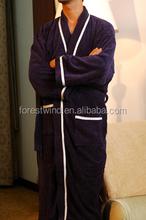 Cotton luxury bathrobe waffle wholesale bathrobe