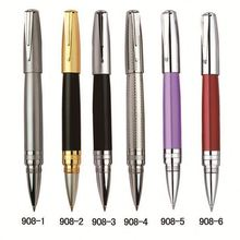 China factory stationery plump/fat style small/short metal roller pen, mini liquid ink pen, fashion BAIXIN designed pen RP-908