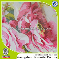2014 new style heat transfer printing floral fabrics for clothes
