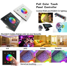 High quality full color LED RGB Touch Glass Panel Controller