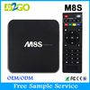 M8S 2gb 8gb android 4.4 amlogic Quad Core s812 smart digital to analog tv converter box