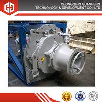 Marine electric wheel capstan