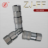 ZJ-FF ISO16028 flat face hydraulic quick release couplings