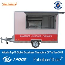 FV-30NEW carts hot dog/food trailer/foo fast food trolley cart electric tricycle food van