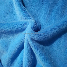 China Alibaba Jiangsu Factory 7-40mm 100% polyester Knitted Minky PV plush faux fur fabric/Blanket Fabric/Toy Fabric