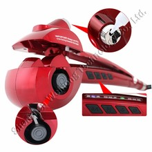2015 New Tools Automatic Steam Hair Curler Rollers Electric Steamer Curl DIY Magic Stylist Curling Irons Wand Hair Curler