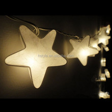 20 Stars Lantern mulberry Paper Thailand Handmade Fairy String Lights Party Patio Wedding Floor Table or Hanging Gift HNL025