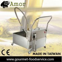Deep Fryer Cooking Oil Filter Filtration machine