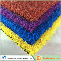 Wholesale China red artificial grass