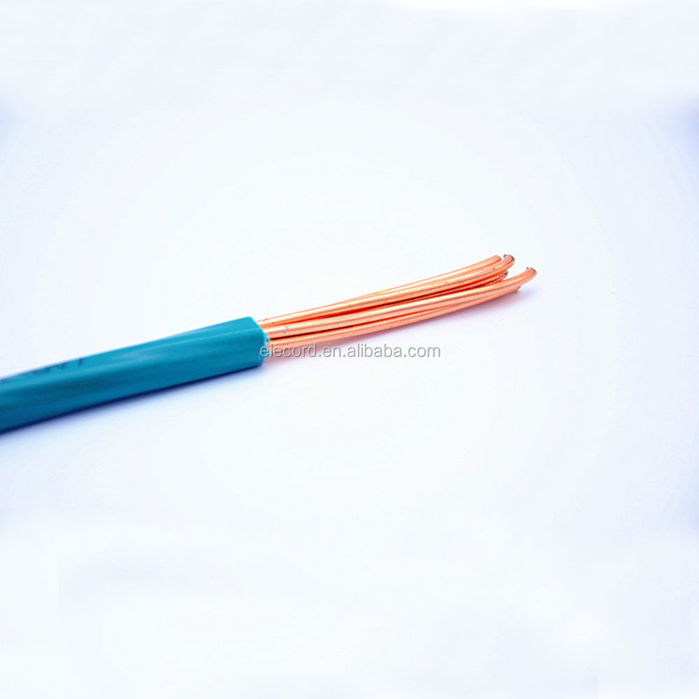 Solid Insulated Copper Wire : Pvc insulated solid copper heat resistant insulation for