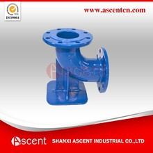 Ductile Iron Double Flanged Duckfoot Bends Fittings