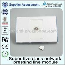 de alta calidad de receptáculo de la pared la placa de proveedor