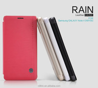 For Samsung GALAXY Note 4 NILLKIN Rain PU Leather Flip Case