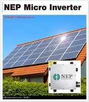 waterproof home panel system rooftop shapes and orientations Micro grid inverter 300W with ETL,UL1741