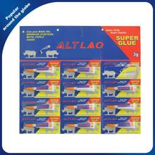 Fast Super Glue 502 3g Instant Clear Liquid Cyanoacrylate Adhesive