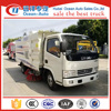 Dongfeng 5.5cbm street sweeper truck, with 4 brushes road cleaning vehicle for sale