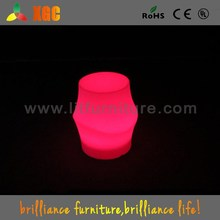 China Plastic Chairs Manufacturer baby toys kids chair color-changing LEDs outdoor furniture