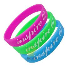 Wholesale Custom Political Silicone Rubber Wristbands