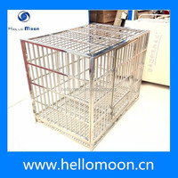 China Hot sale Stainless Steel Folding Dog Cage