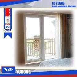 Swing opening triple glazed upvc casement window with Germany hardware