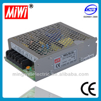 switching power supply NES 50W 12V 4.2A High Relibility auto switching supply power,uninterrupt power supply
