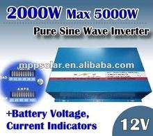 2000w 12v pure sine wave power inverter off grid 12V inverter