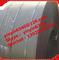 HOT ROLLED Mild Alloyed checkered diamond steel coil/sheet