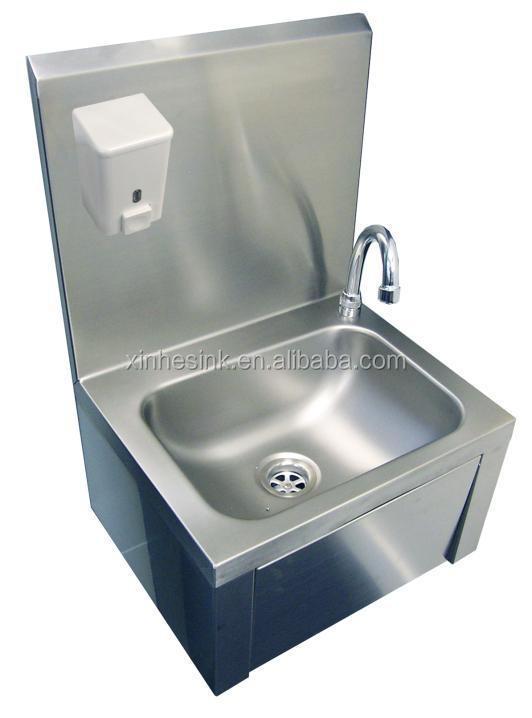 Commercial Wash Sink : Sink Hand Wash Basin - Buy Knee Operated Commercial Hand Wash Sink ...