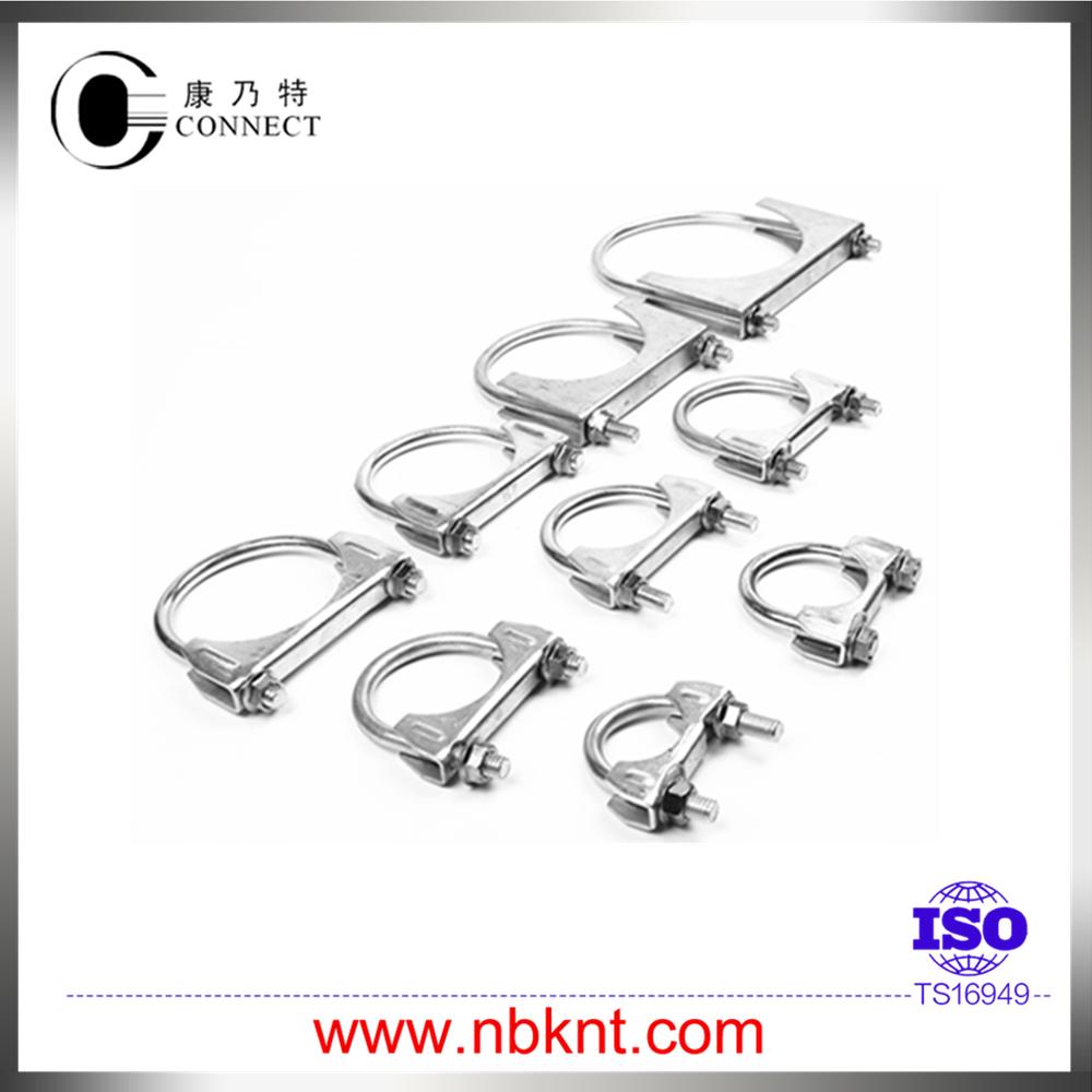 Galvanized steel muffler pipe clamp in quot buy