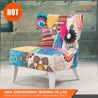 Made In China Luxury Retro Design Wooden Corner Sofa Design