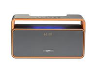 2015 new design Double Speaker 2.1 Sound HiFi portable bluetooth speaker with display Subwoofer Bluetooth Speaker
