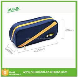 Pen Sleeve & pen pouch Factory produce school boys and girls canvas zipper pen pouch bags