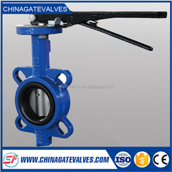 30 inch butterfly valve with gear operation