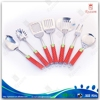 Cute handle stainless steel kitchenware